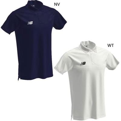 ニューバランス メンズ ポロシャツ サッカーウェア フットサルウェア トップス 半袖 EMT9043