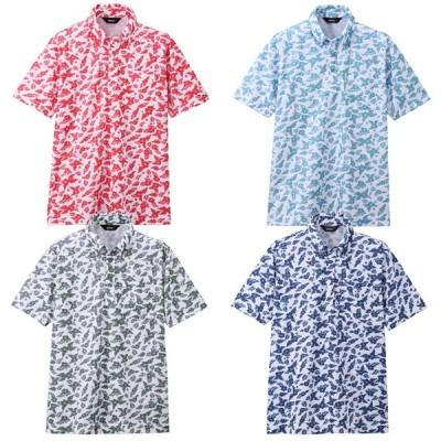 メンズファッション ポロシャツ 吸汗速乾 ボタンダウン 半袖 アロハシャツ Z1169 メンズ 紳士 男性用 父の日 プレゼント