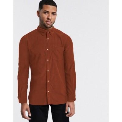 ジャック アンド ジョーンズ メンズ シャツ トップス Jack & Jones corduroy oxford shirt