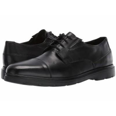 ボストニアン メンズ ドレスシューズ シューズ Luglite Cap Black Leather