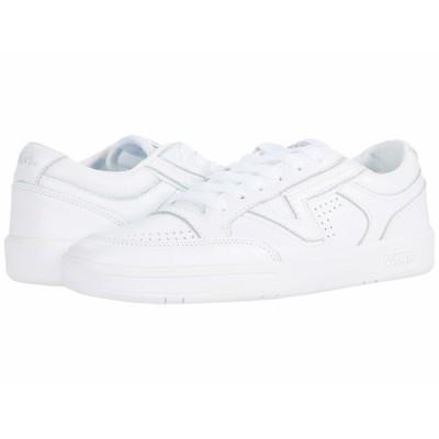 バンズ スニーカー シューズ メンズ Lowland CC (Leather) True White/True White