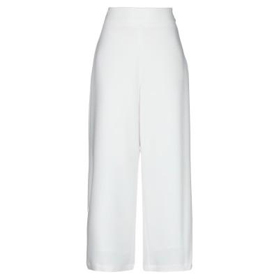GLAMOROUS パンツ ホワイト 12 ポリエステル 100% パンツ
