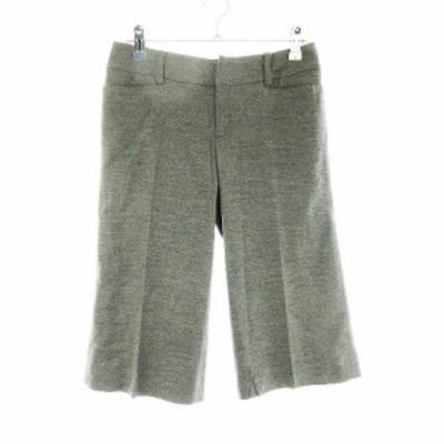 【中古】プロポーション ボディドレッシング PROPORTION BODY DRESSING パンツ ハーフ ショート 無地 1 グレー