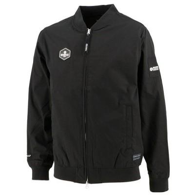 GFPH20504GRANDE FP ヘキサゴン スタジアムジャケット ブラック【グランデ/サッカー/フットサル/ジャケット】