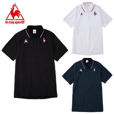 ルコック le coq sportif ポロシャツ 半袖 メンズ サンスクリーンエアスタイリッシュ半袖ポロシャツ QMMRJA43