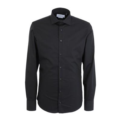 ハマキホ HAMAKI-HO シャツ ブラック M コットン 100% シャツ