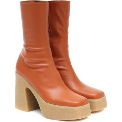 ステラ マッカートニー Stella McCartney レディース ブーツ ショートブーツ シューズ・靴 platform ankle boots Praline