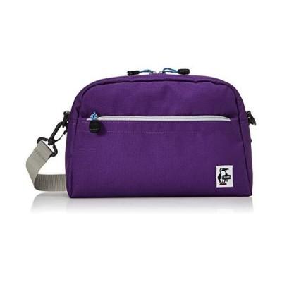 チャムス ショルダーバッグ(タウン用) CH60-2473-P001-00 Purple