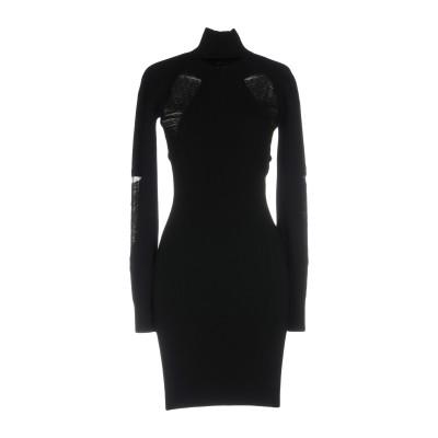 VERSUS VERSACE ミニワンピース&ドレス ブラック 40 レーヨン 68% / ポリエステル 32% ミニワンピース&ドレス