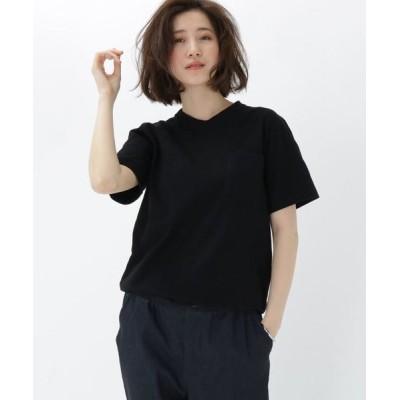 BASE STATION/ベースステーション 日本製 JAPAN MADE あせない 黒Tシャツ 11905 ブラック(119) 01(S)