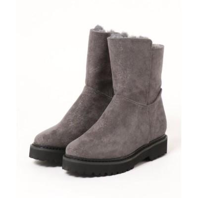 Parade ワシントン靴店 / 【厚底】サイドジップ内ボアブーツ 6217 WOMEN シューズ > ブーツ
