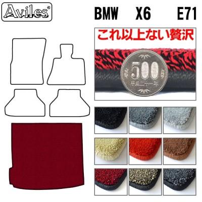 【これ以上ない贅沢 厚さ脅威の2CM】BMW X6 E71 トランクマット  「最高級フロアマット」