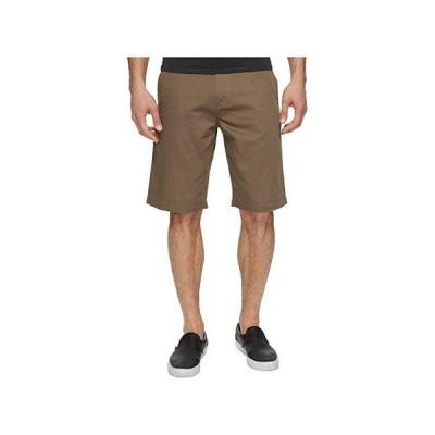 ボルコム Frickin Chino Shorts メンズ 半ズボン Mushroom