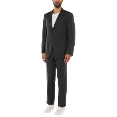 カンタレリ CANTARELLI スーツ ブラック 56 バージンウール 100% スーツ