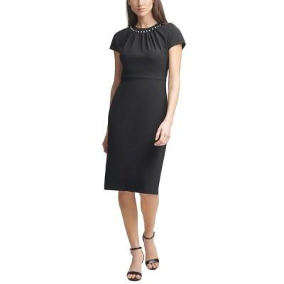 ハーパーローズ ワンピース トップス レディース Embellished Bodycon Dress Black