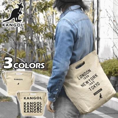 ショルダーバッグ メンズ 斜めがけ おしゃれ 大きめ 大容量 A4/KANGOL カンゴール/キャンバス