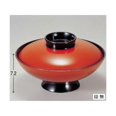 煮物椀 6寸小槌煮物椀 朱 寸法: 18.5φ x 10.5cm 入数: 60個