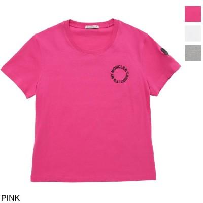 モンクレール MONCLER クルーネックTシャツ レディース 8c79710-829fb-54a