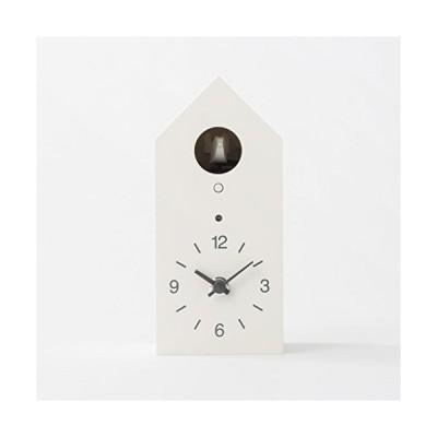 カッコー時計 インテリア 壁掛け時計 C4A1011 MUJI Cuckoo Clock [White - Standard Size]