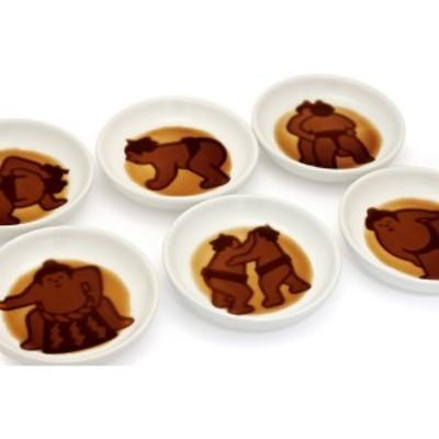 相撲醤油皿