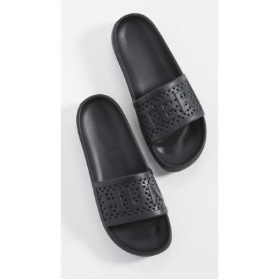 ハンター Hunter Boots メンズ サンダル シューズ・靴 Logo Slides Black