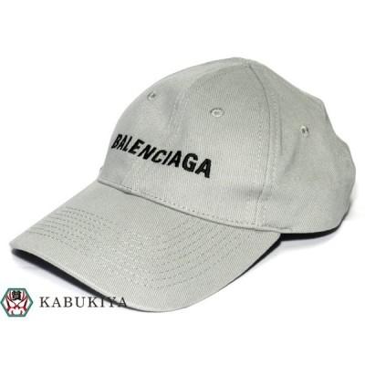 BALENCIAGA バレンシアガ ベースボールキャップ  グレー 帽子 衣類 小物 ファッション アイテム【中古】20-27296AO
