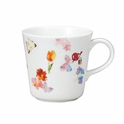 NARUMI(ナルミ) マグカップ 春の庭 いわさきちひろ 340cc 電子レンジ温め 食洗機対応 日本製 52096-2923新品