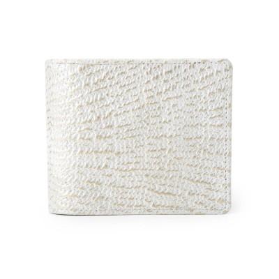 ヒロコ ハヤシ HIROKO HAYASHI DAMASCO(ダマスコ)二つ折り財布 (ライトグレー)