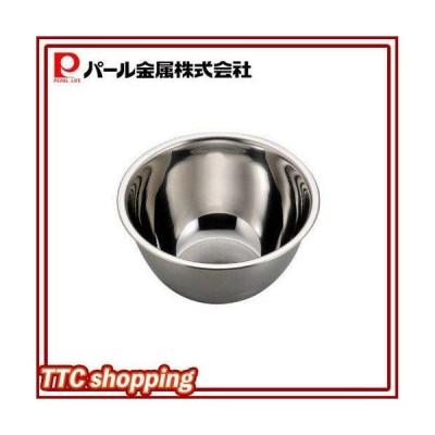 パール金属 アクアシャイン ステンレス製 深型 ボール 15cm H-8236