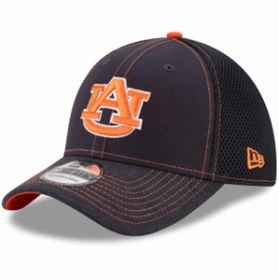 New Era ニュー エラ スポーツ用品  New Era Auburn Tigers Navy Shadow Burst 39THIRTY Flex Hat