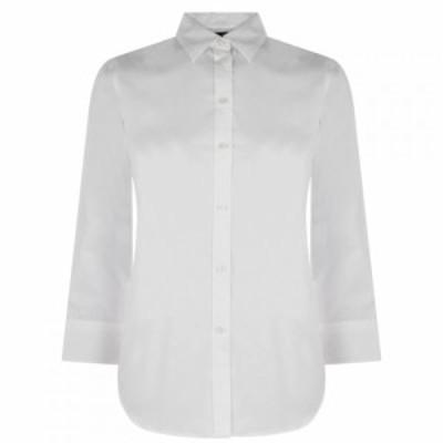 ラルフ ローレン Lauren by Ralph Lauren レディース ブラウス・シャツ トップス Ralph Lauren Gwenno Shirt White