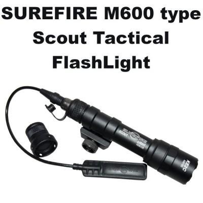 SUREFIRE M600 タイプ スカウト タクティカル フラッシュライト 973-1379 シュアファイア エアガン ガスガン モデルガン