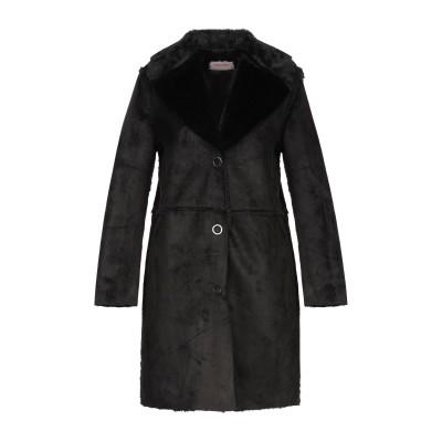TWENTY EASY by KAOS コート ブラック 42 ポリエステル 100% コート