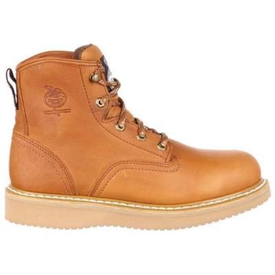 ジョージアブーツ メンズ ブーツ・レインブーツ シューズ Wedge 6 Inch Electrical Hazard Steel Toe Work Boots