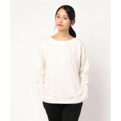 kobelettuce / [ノーマル/パネル]ボーダー柄・無地シンプルカットソーオーバーサイズバスクシャツ WOMEN トップス > Tシャツ/カットソー