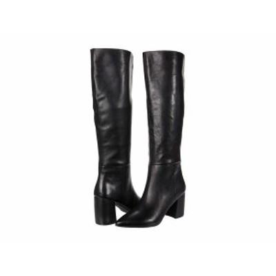 スティーブ マデン レディース ブーツ・レインブーツ シューズ Nilly Boot Black Leather