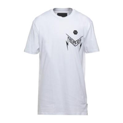 PHILIPP PLEIN T シャツ ホワイト XXL コットン 100% T シャツ
