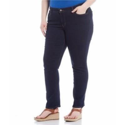 リーバイス レディース デニムパンツ ボトムス Plus Size Classic Straight Leg Jeans Marine Dip