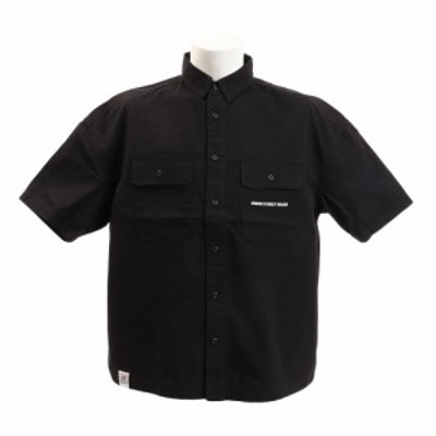 ヴィジョン(VISION)ワッペンワークシャツ 9523129-01BLK (Men's)