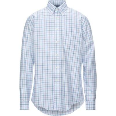ブルックス ブラザーズ BROOKS BROTHERS メンズ シャツ トップス Checked Shirt Sky blue