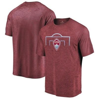 ファナティクス ブランデッド メンズ Tシャツ トップス Colorado Rapids Fanatics Branded Iconic Just Getting Started Raglan T-Shirt