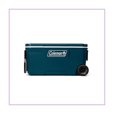 Coleman Ice Chest | 316 Series 100 Quart Wheeled Cooler, Space