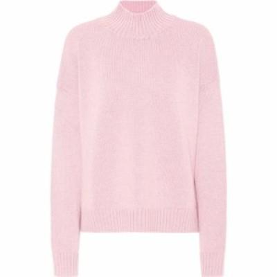ガニー Ganni レディース ニット・セーター トップス Merino-wool mockneck sweater Cherry Blossom