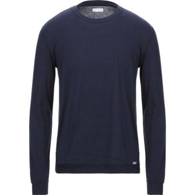 ザカス XACUS メンズ Tシャツ トップス t-shirt Dark blue