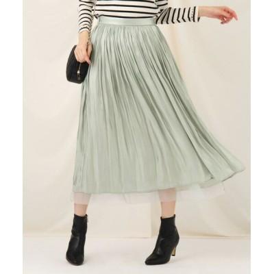 Couture Brooch/クチュールブローチ オーロラヨウリュウリバースカート ライトグリーン(021) 38(M)