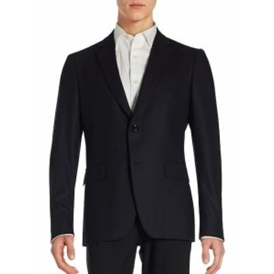 ジョンバルバトス Men Clothing Solid Single-Breasted Long Sleeve Blazer