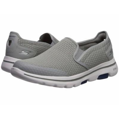 スケッチャーズ スニーカー シューズ メンズ Go Walk 5 - Apprize Light Gray/Blue
