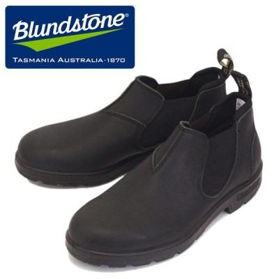 Blundstone (ブランドストーン) BS1611089 #1611 CLASSICS LOW-CUT クラシック ローカット サイドゴア レザースリッポンシューズ Voltan Black BS004