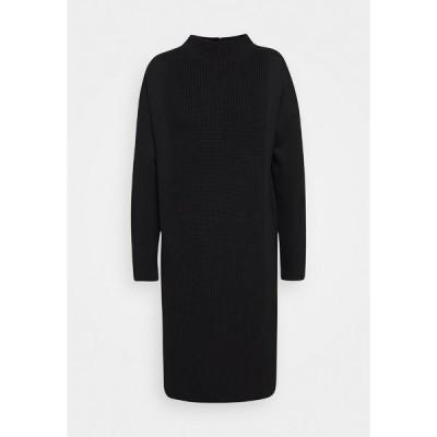 サムデイ  ワンピース レディース トップス QUNOLA - Jersey dress - black