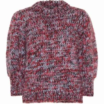 ガニー Ganni レディース ニット・セーター トップス the julliard mohair-blend sweater Serenity Blue